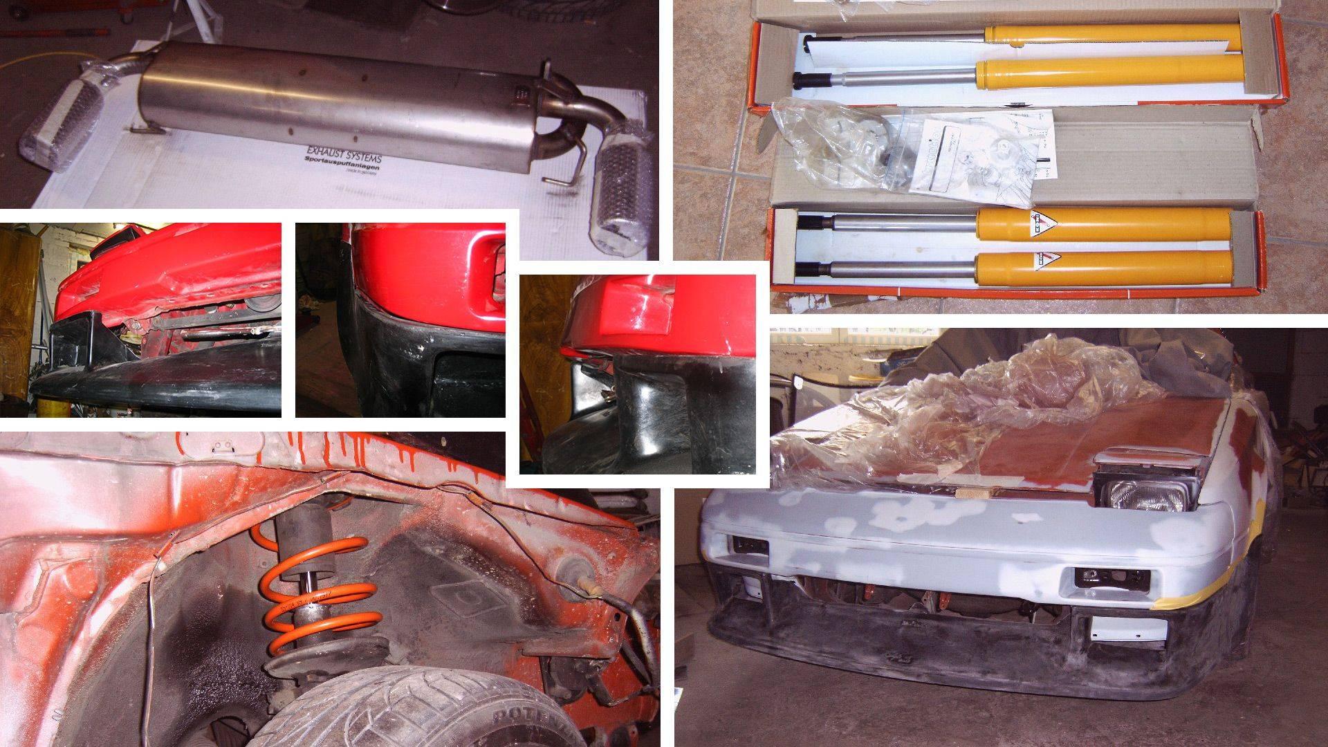Toyota MR2 AW11 Bodykit Fahrwerk