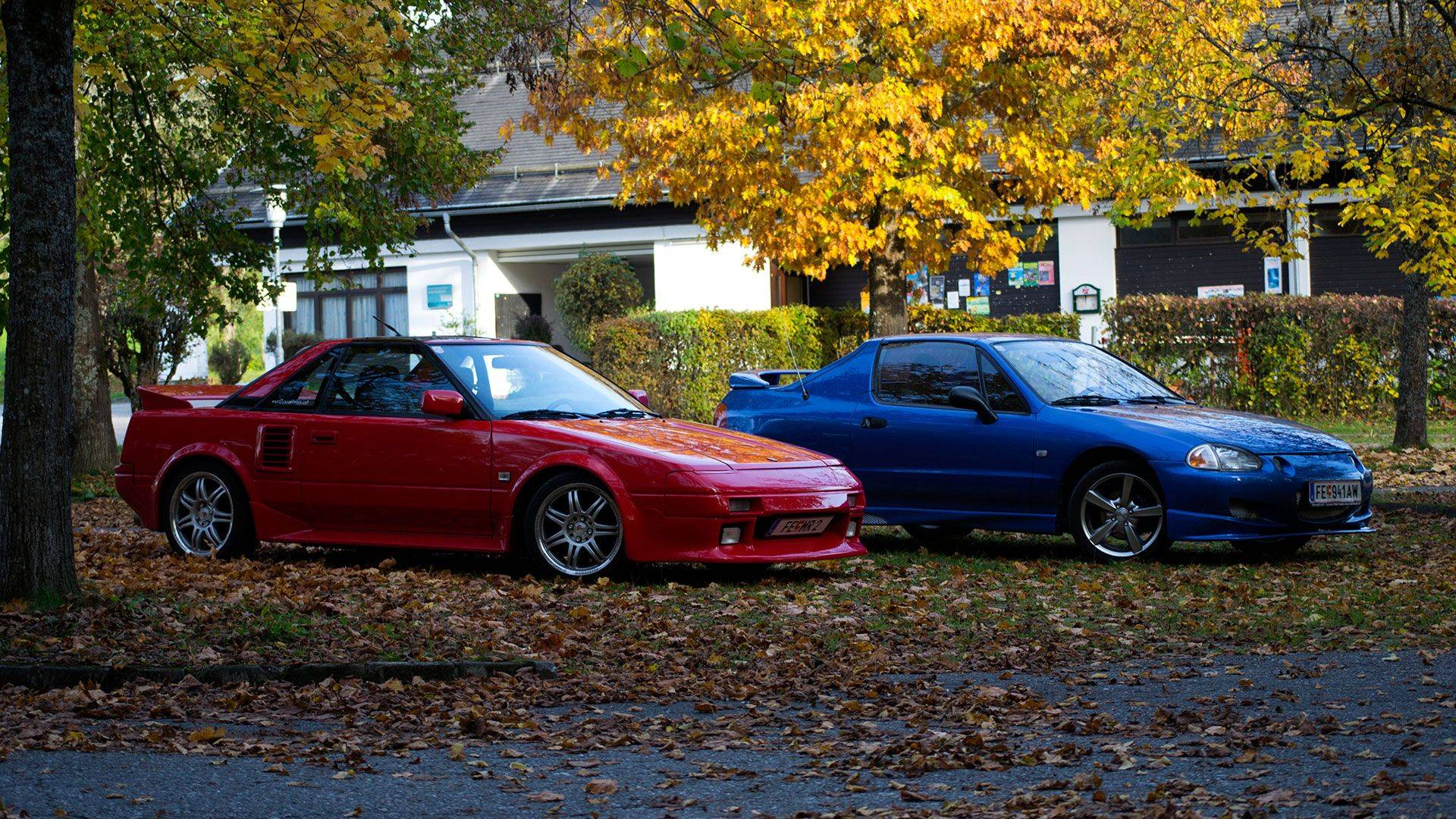Toyota MR2 AW11 - Honda Civic CRX delsol