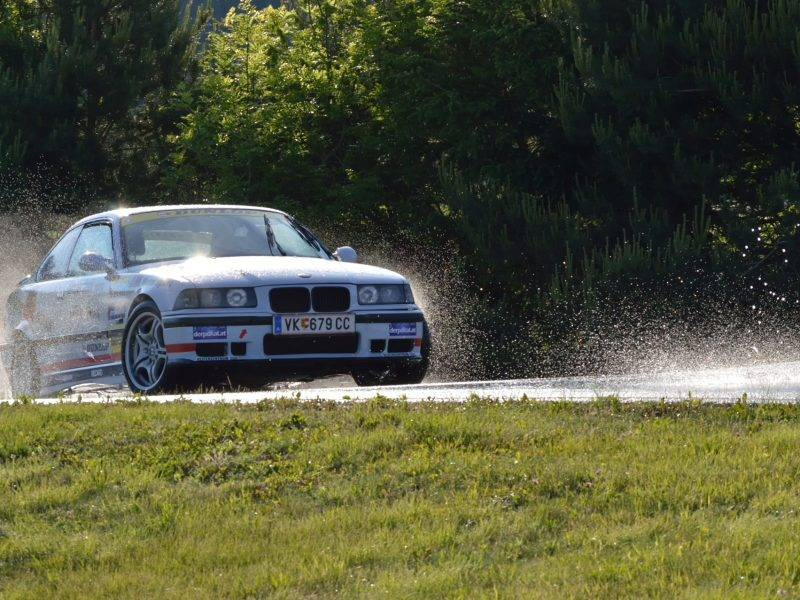 Freies Driften ÖAMTC St.Veit - BMW E36